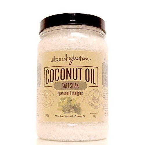 Urban Hydration Salt Soak, Natural, Spearmint Eucalyptus, 38 (Sweet Pea Salt Scrub)