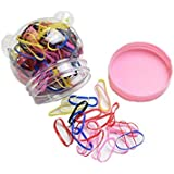 1Box(150PCS) Baby Kids Girls Disposable Candy Color Hair Tie Elastic Rubber Bands Hair Ponytail Holder,SDSK018