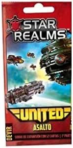 Devir Star Realms United: Asalto - Expansión Juego de Mesa [Castellano]: Amazon.es: Juguetes y juegos