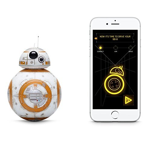 Sphero Battle-Worn Bb-8 Droid with Force Band & Collector's Edition Black Tin by Star Wars by Sphero (Image #3)