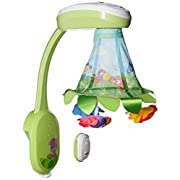 Fisher-Price Rainforest Grow-with-Me Projection Mobile, Multi