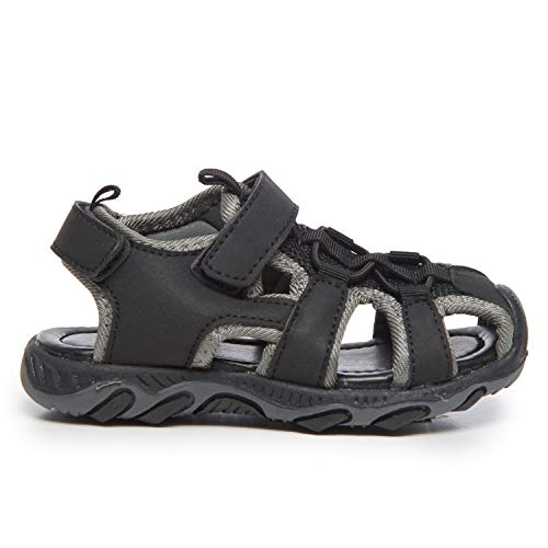 Mesh Velcro Strap Skysole Boy/'s Athletic Fisherman Sandals Closed-Toe Kid/'s Shoes