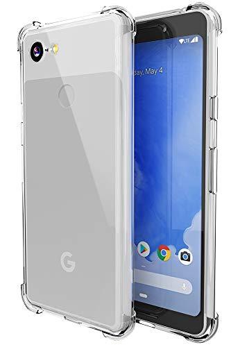 Google Pixel 3 Case, Androgate Transparent Slim...