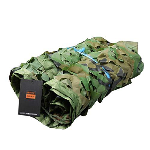無限大被る服を片付けるカモフラージュネット、シェードネットを隠すための屋外狩りのためのデザートウッドランドキャンプ、インテリア装飾、カーカバー、ジャングルカモフラージュ (サイズ さいず : 7 * 7M)