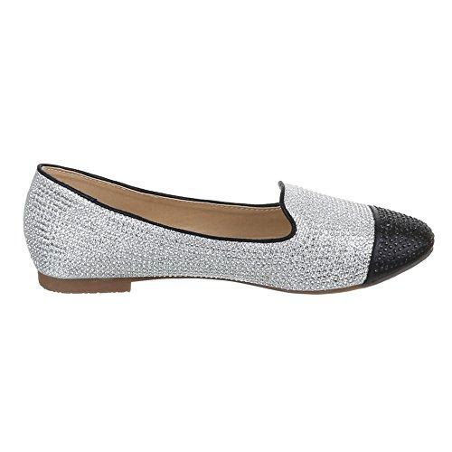 Ital-Design - Zapatos Mujer Plateado - plateado