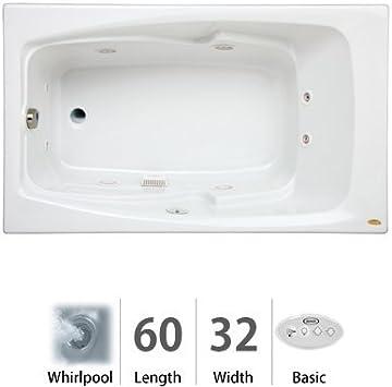 Cetra 60 X 32 Whirlpool Bathtub Color White Amazon Com