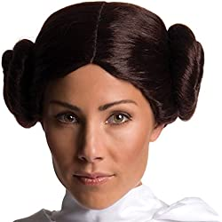 Secret Wishes Adult Star Wars Princess Leia Costume Wig