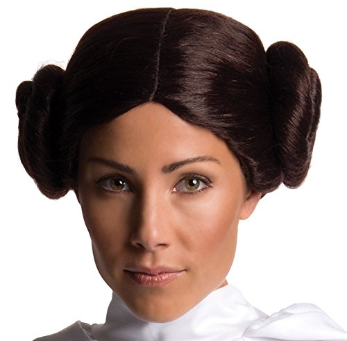 Princess Leia Slave Costume Hair (Secret Wishes Adult Star Wars Princess Leia Costume Wig)