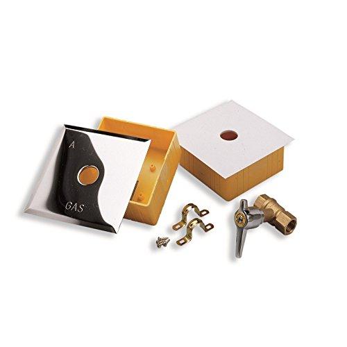 AcquaStiLLa 110620 Scatole per Rubinetti Gas Incasso Multicolore