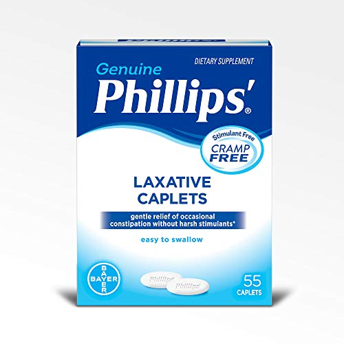 Phillips' Laxative Caplets (55-Count Box)