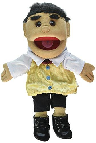 Sunny Toys 14'' Hispanic Boy In Vest Glove Puppet by Globee