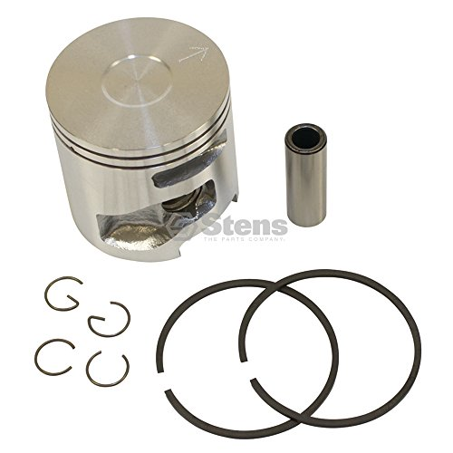 Stens Piston - Stens 632-912 Metal Piston Kit, Fits Husqvarna: K750 and K760 Cut-Off Saws, Includes Piston, Rings, Pin and Clips, 51 mm Bore, Use with 632-732 Cylinder Assembly