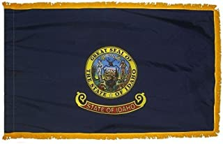 product image for Valley Forge Idaho 3x5ft Nylon Flag with Indoor Pole Hem and Fringe