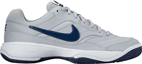 Men's NIKE Tennis Navy Grey Midnight Shoes Wolf Court White Lite dxBUOwxFfq
