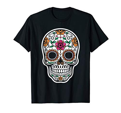 Sugar Skull Costume Halloween Floral