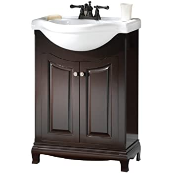 Foremost PAEA2534 Palermo Euro Bath Vanity With China Top