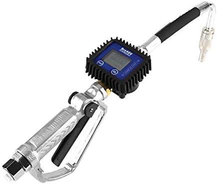 燃料油ノズルガン、1個デジタルフローオイル付き潤滑油ハンドルガン給油ノズル