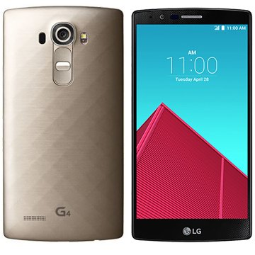 LG G4 H815 5.5-Inch Factory Unlocked Smartphone (Metallic Gold) - International Stock (No Warranty)