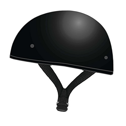 Speed and Strength Solid Speed Adult SS210 Street Motorcycle Helmet - Gloss Black/Large