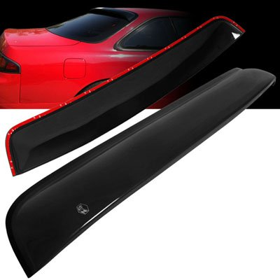 S14 240sx (1995-1998 Nissan 240SX S14 SZ Rear Roof Window Visor Spoiler (3M))
