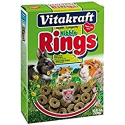 Vitakraft Nibble Rings Small Pet Treats (300g)