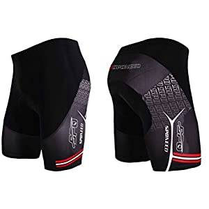 sponeed Cycle Shorts Mens Tights Bicycle Racing Bike Padded Pants Cycling Underwear Asia XL/US L Multi