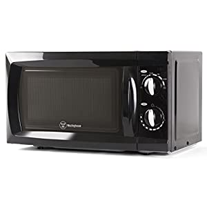 Counter Top Rotary Microwave Oven 0.6 Cubic Feet, 600 Watt, Black, WCM660B by Westinghouse