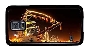 Hipster discount Samsung Galaxy S5 Cases sailboat at night PC Black for Samsung S5