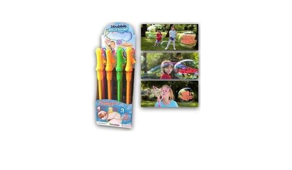 Pompas de Jabón Gigantes. Modelo Aleatorio. Unidad.: Amazon.es: Juguetes y juegos