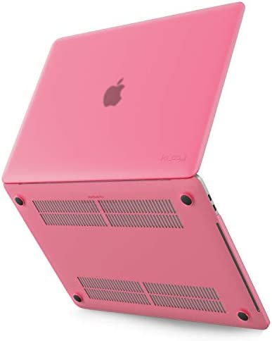 Kuzy - MacBook Pro 13 اینچ Case 2019 2018 2017 2016 نسخه A2159 A1989 A1706 A1708 ، پوشش سخت پوستی پلاستیکی جدید برای مورد 13 اینچی MacBook Pro Case با Touch Bar Soft Soft - صورتی