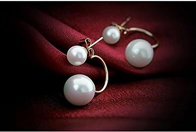Ohrstecker doppelt perlen