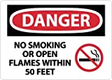 NMC D673RB OSHA Sign, Legend