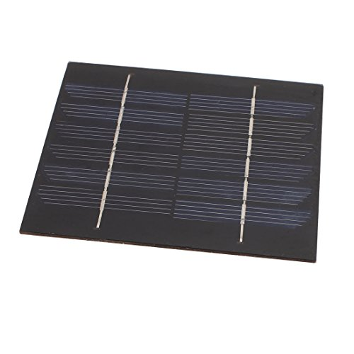uxcell 132mmx114mm 6 Volts 150mA Mini Monocrystalline Solar Cell Panel Module