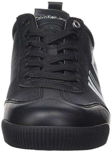 noir Welby Klein Sneaker Calvin Hommes Nylon Lisse Noir wAWWU01xZq