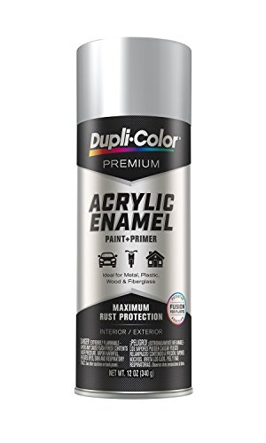 Dupli-Color EPAE11200 Premium Acrylic Enamel Spray Paint (PAE112 Chrome Aluminum 12 oz), 12. Fluid_Ounces