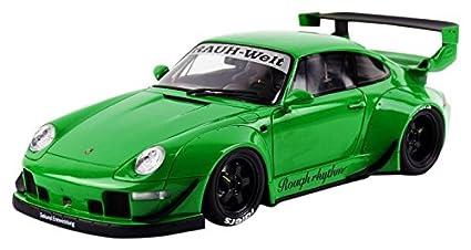 GT Spirit 1/18 Scale Resin - GT074 Porsche 993 RWB 911 Green
