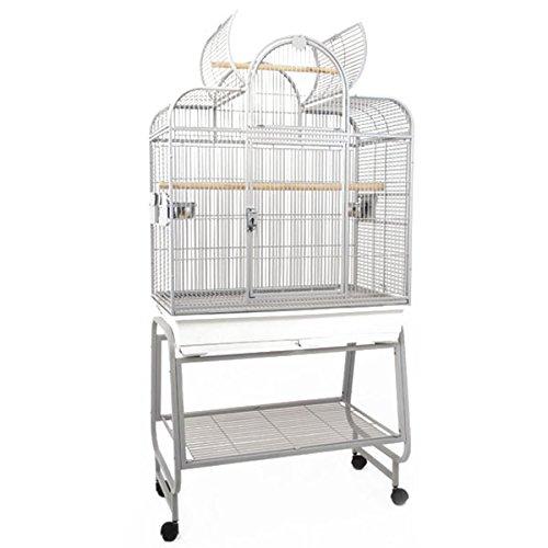 Montana Cages | Sittichvoliere San Remo III - Platinum Sittichkäfig, Käfig, Voliere, Vogelkäfig