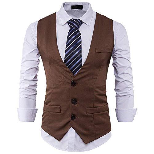 Khaki Cuello Chaqueta La Traje Fit Smoking Slim De Blazer Los Negocios  Pecho Solo En Vintage Hombres ... 9129b665c852