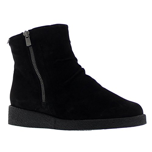 Boots Suede Cassandra Black Mephisto Womens zvPgWcvpf