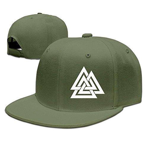 Runy Custom Valknut Logo Adjustable Baseball Hat & Cap - Tigers Pendant Basketball Tigers