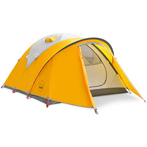 KAZOO Waterproof Durable Tent Large Backpacking Family Camping Tents 2/4 People Hiking Lightweight Tent 2/4 Person Aluminum Frame