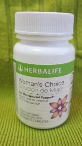 HERBALIFE NEW WOMAN'S CHOICE MENOPAUSAL SUPPORT TABLETS