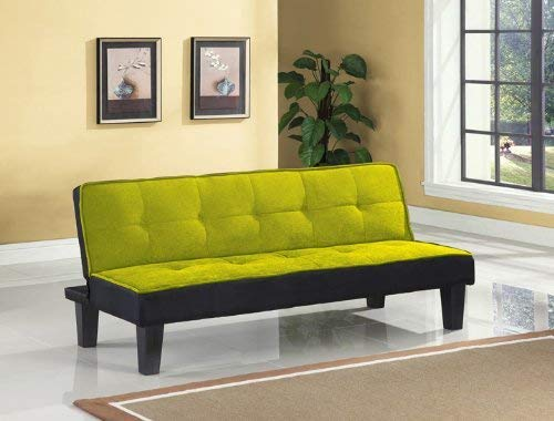 ACME 57039 Hamar Microfiber Adjustable Sofa, Green
