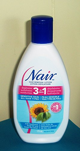 Price comparison product image Nair hair removal lotion 3 in 1 for sensitive skin