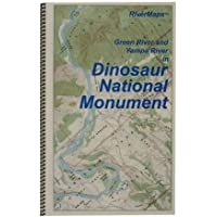 Maps, Green River and Yampa River in Dinasour Natl Mon