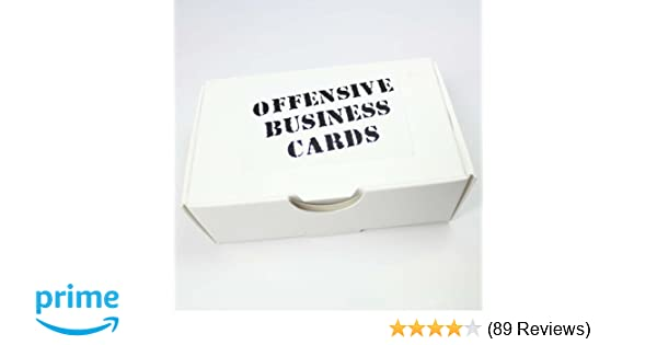 Amazon offensive business cards by thisiswhyimbroke toys games colourmoves