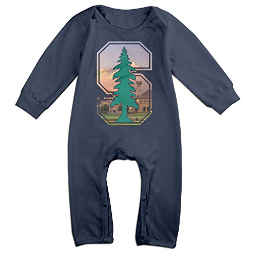 Dadada Babys Stanford Tree University  Long Sleeve Outfits 12 Months - Stanford Tree Costume