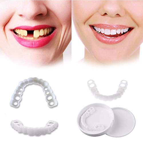 XTing Instant Veneers Dentures New Instant Fix Your Smile at Hand Crafted  Detail Safe Effective Painless Natural Braces Instant Veneers Dentures  White