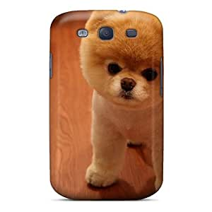 New Arrival Galaxy S3 Case Cute Pomeranian Dog Case Cover