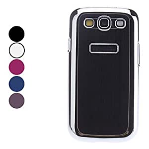 ZL Solid Color Hard Case for Samsung Galaxy S3 I9300 (Assorted Colors) , Rose